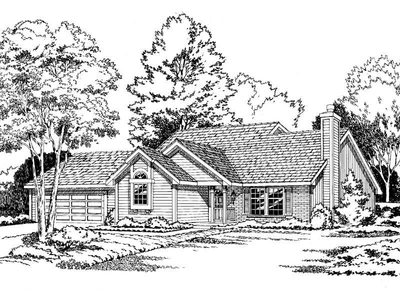 Classy Contemporary Home Plan