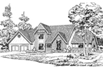 Traditional Design With European Tudor Style