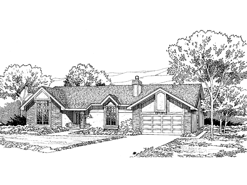 Lovely Ranch With Private Design