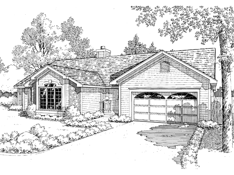 Fabian traditional ranch home plan 038d 0386 house plans for Traditional ranch home plans