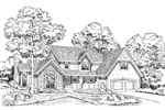 Traditional Country Home With Tudor Impressions