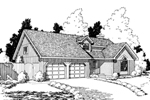 Traditional Home Plan With Sophisticated Country Style