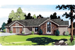Classic Contemporary Ranch Home Plan
