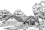 Overlapping Gables And Bay Window Add To Home Plan