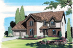 Enhancing Two-Story Tudor Design