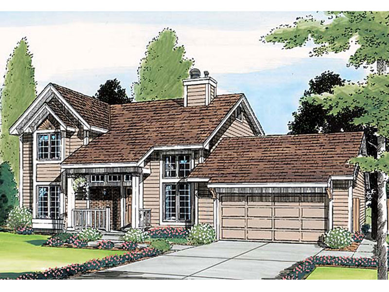 Neoclassical Home Plan Front of Home - 038D-0435 | House Plans and More