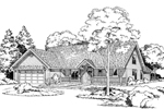 Lavishing Traditional Country Home Plan