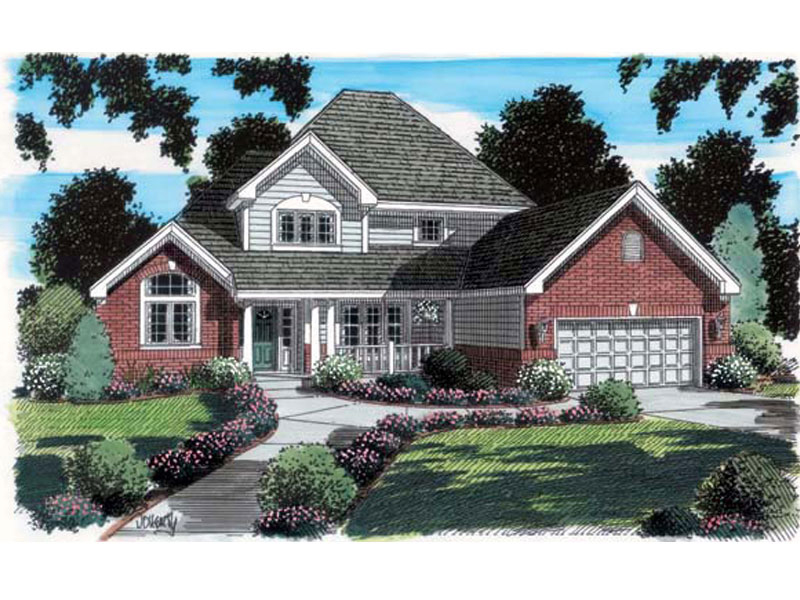 Practical, Comfortable, Traditional Home Plan
