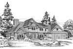Large European Tudor Design With Multiple Gables