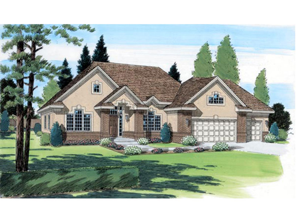 Mimosa Southwestern Home Plan 038d 0501 House Plans And More