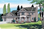 Country Style Two-Story With Spacious Design