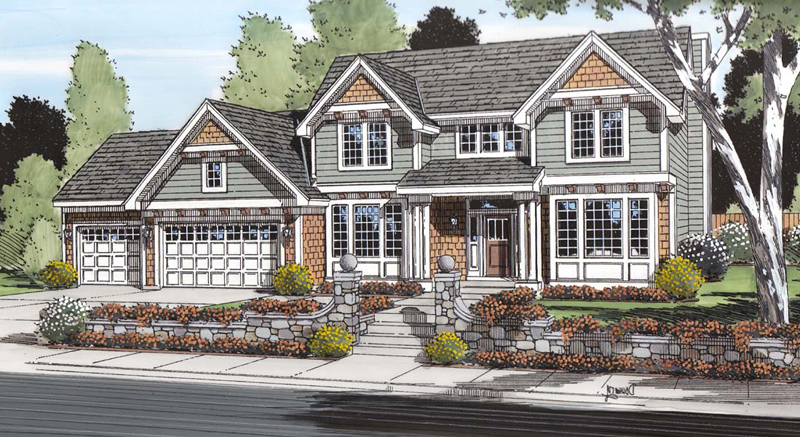 Traditional House Plan Front Image 038D-0510