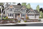 Traditional House Plan Front Image - 038D-0510 | House Plans and More