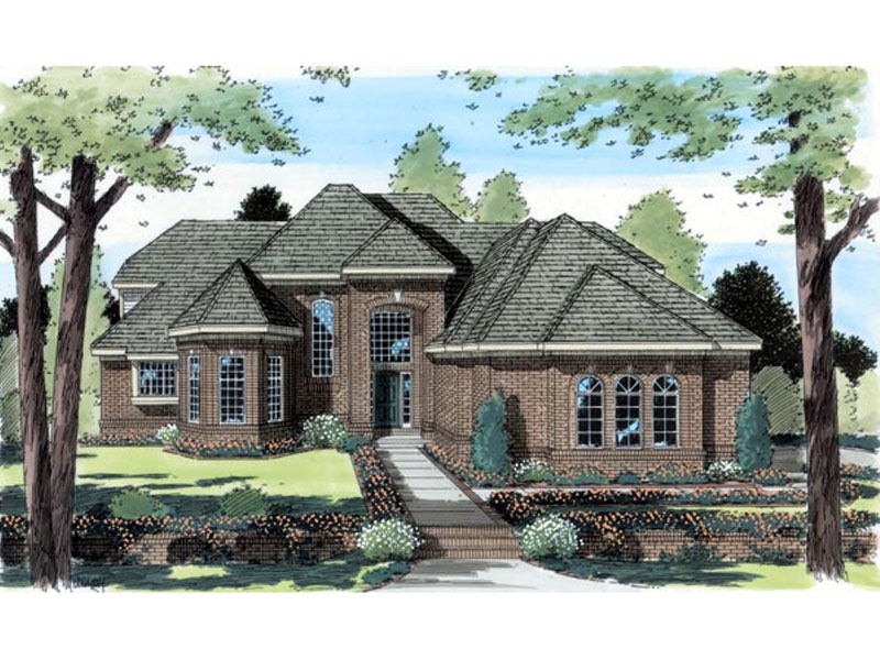 Elliot Manor Luxury Home Plan 038D 0527