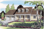 Cheery Cape Cod/ New England Style Home