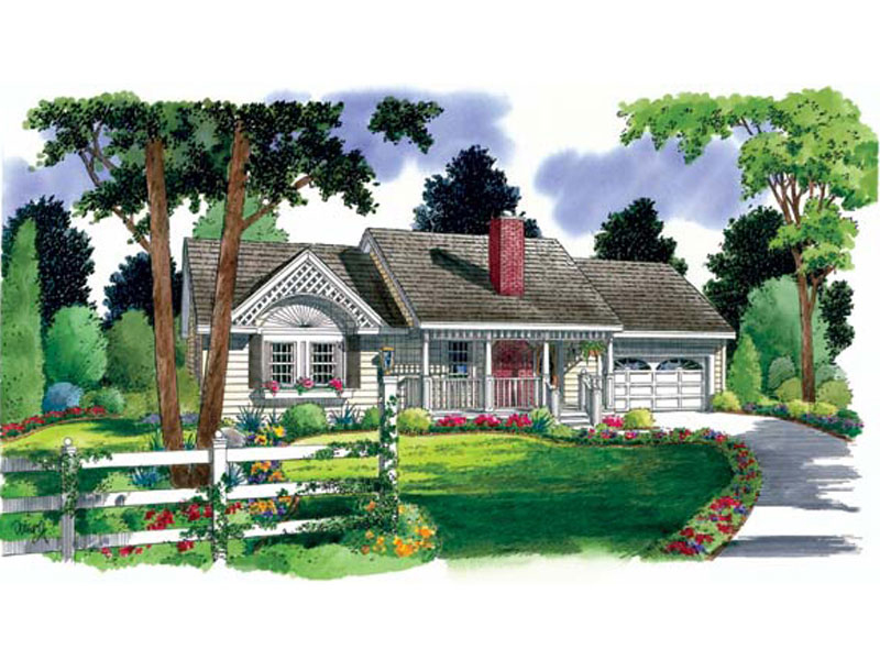 Charming Ranch With Lots Of Country Detail