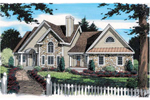 Traditional Home With Country French Touches