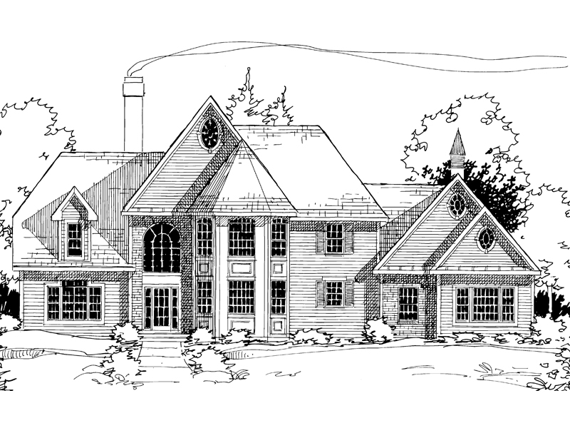 King Sized Home With Victorian And Traditional Styles