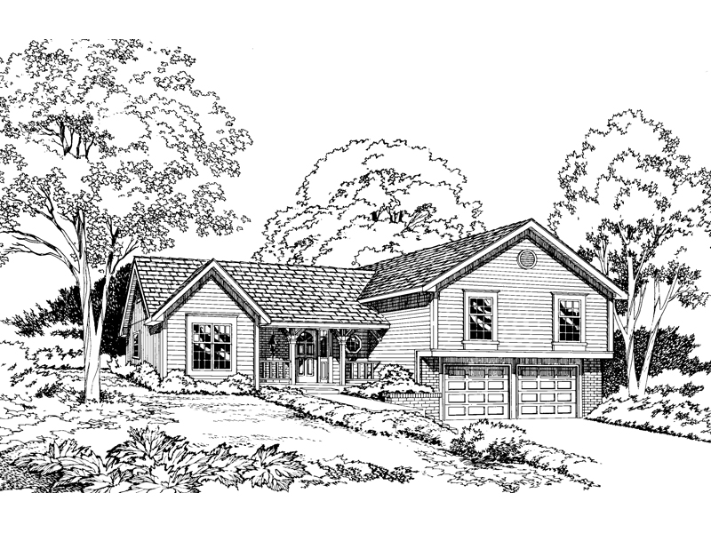 Simple Lines Style This Ranch Home