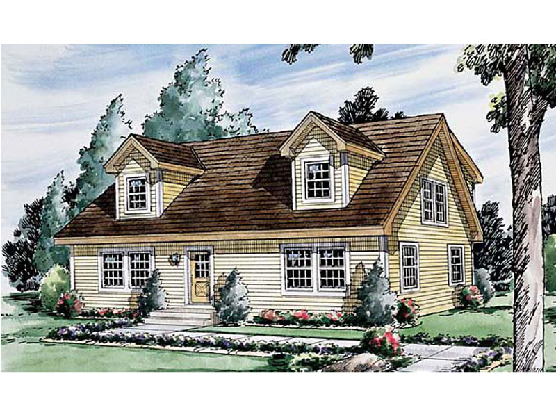 Double Dormers Add Style To Cape Cod/ New England Design