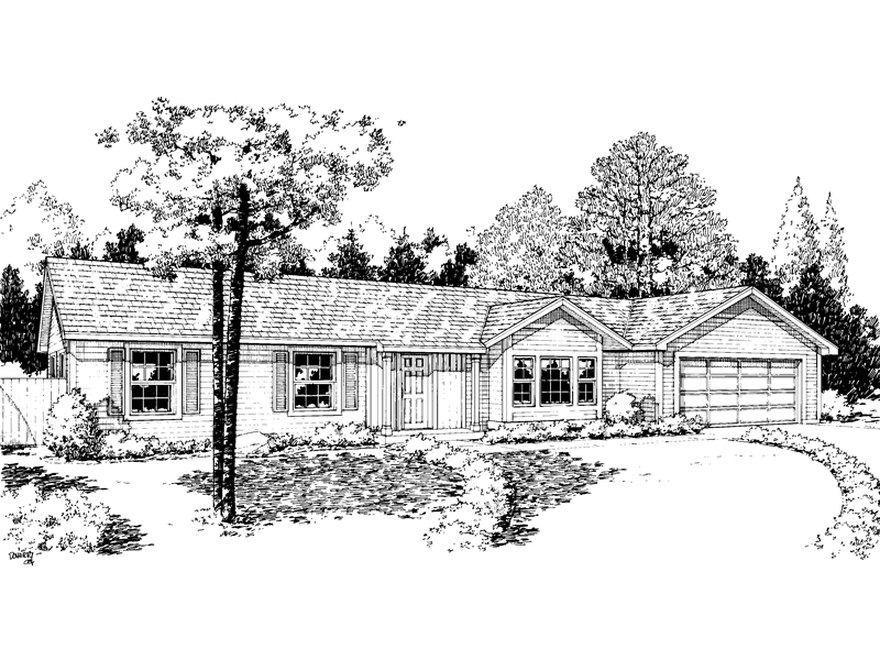 Spacious Ranch Home Plan