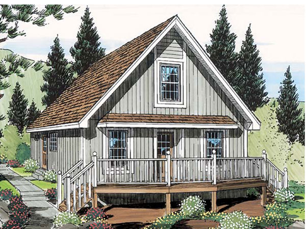 Summit Cliff A Frame Style Home Plan 038d 0644 House