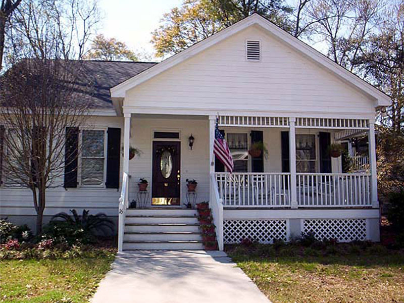 Country Ranch Home With Wide Front Porch