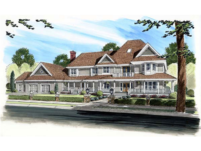 Arts & Crafts House Plan Front of Home - 038D-0721 | House Plans and More
