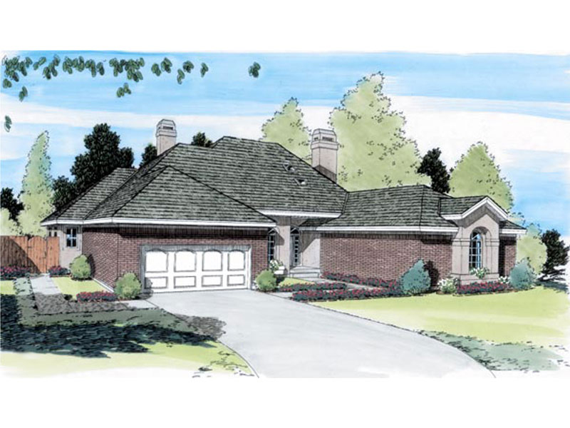 Decorative Traditional Ranch Home Plan