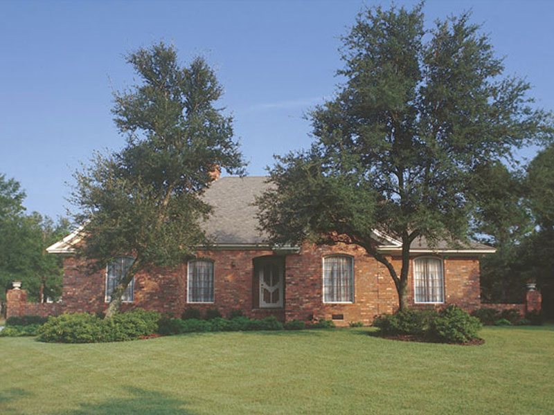 Formal, Stately Brick Home Design