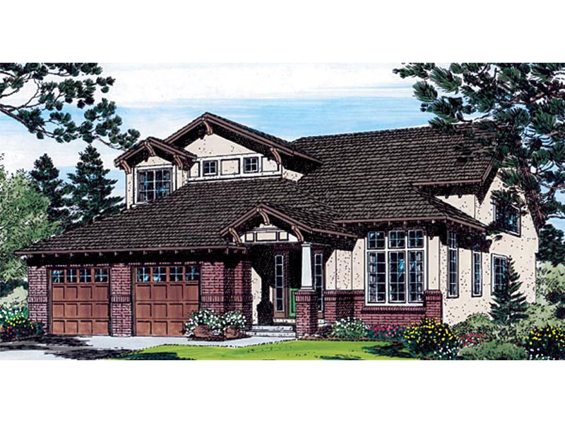 Craftsman Two-Story With Uncommon Style