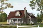 Unique Bungalow Type Home With Country Flavors
