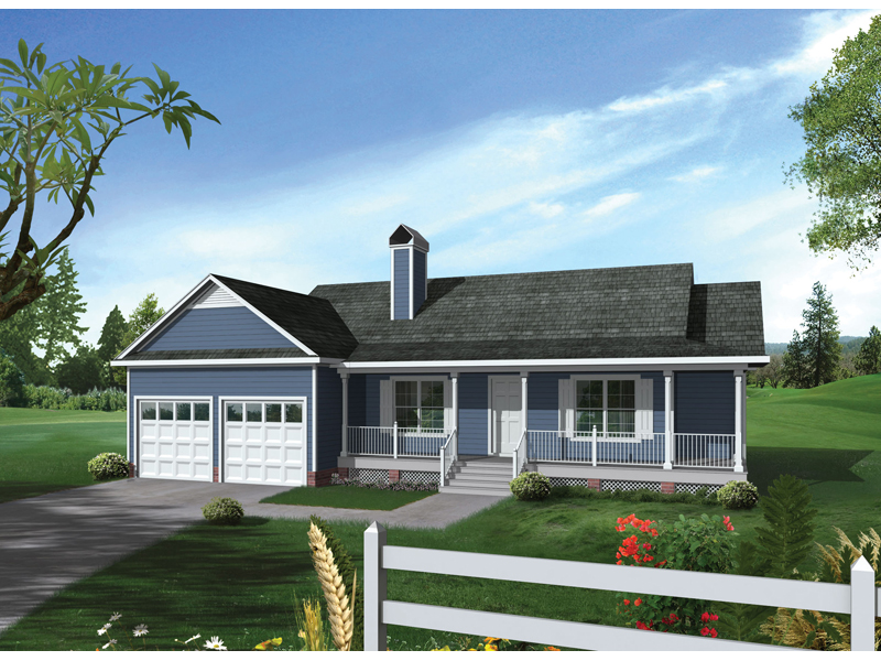 Salinas Country Ranch Home Plan 039D 0026 House Plans