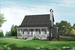 Soothing Acadian Home With Country Flavors