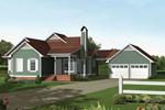 Unique Ranch Home Design