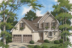 Traditional Country Two-Story Home