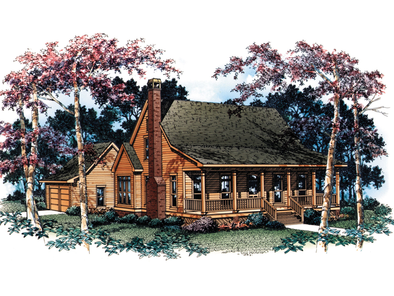 Traditional House Plan Front Image - 040D-0001 | House Plans and More