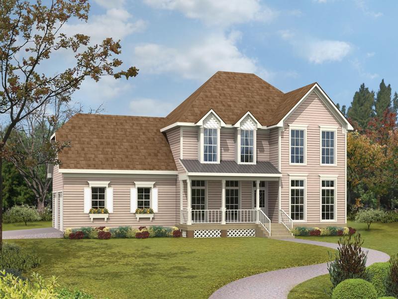 Compact And Convenient Farmhouse