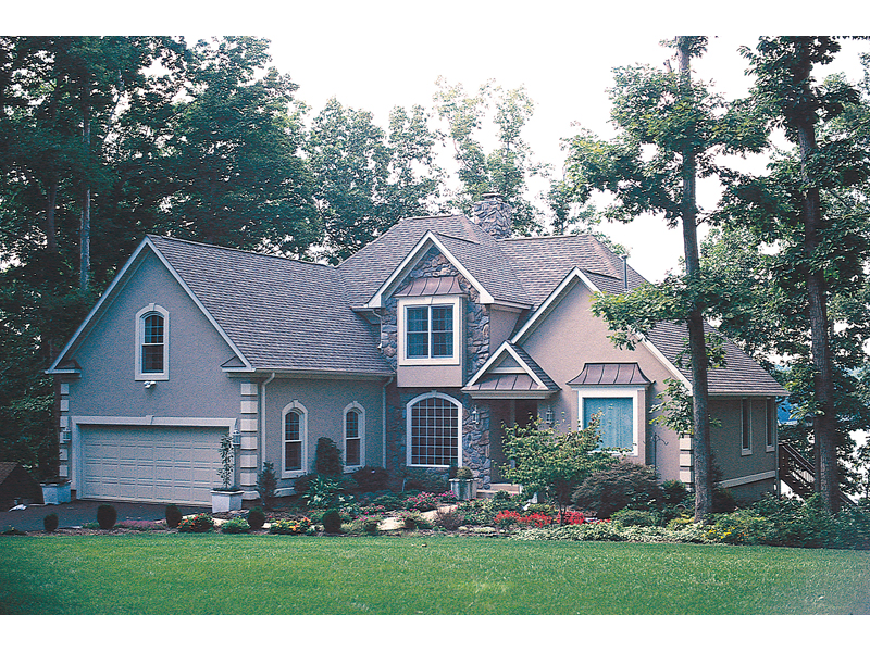 Southern House Plan Front of Home 040D-0005