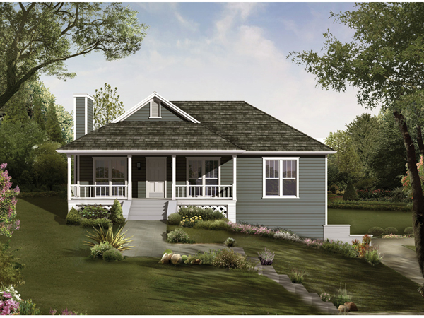Thornspring Country Ranch Home Plan 040D 0010 House