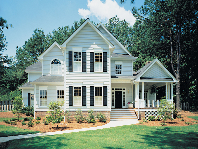 Country House Plan Front of Home 040D-0016