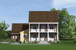 Plantation Style Home With Colonial Formality