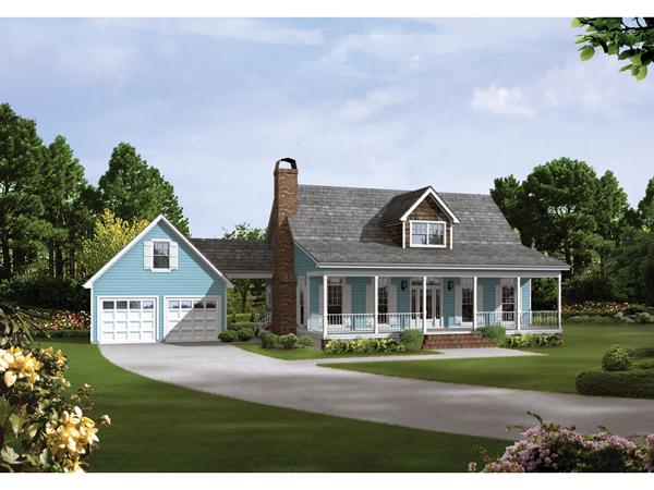 Auburn park country farmhouse plan 040d 0024 house plans for Country farmhouse plans