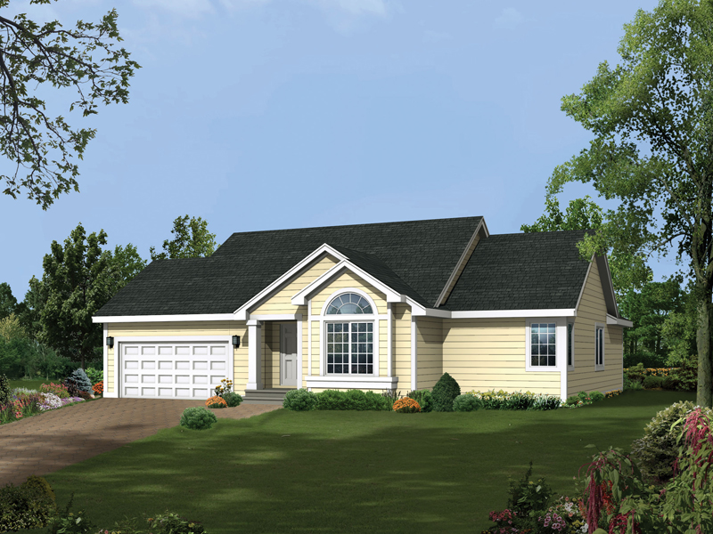 Dayton terrace ranch home plan 041d 0004 house plans and for Dayton home designs