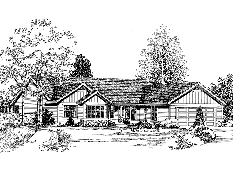 Spacious Craftsman Ranch