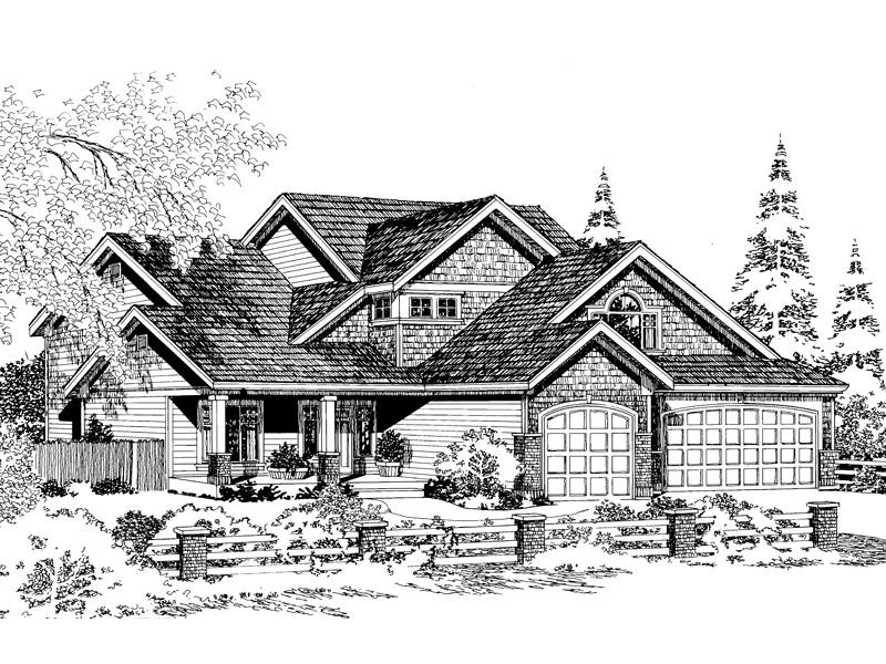 Shingled, Arts & Crafts Design