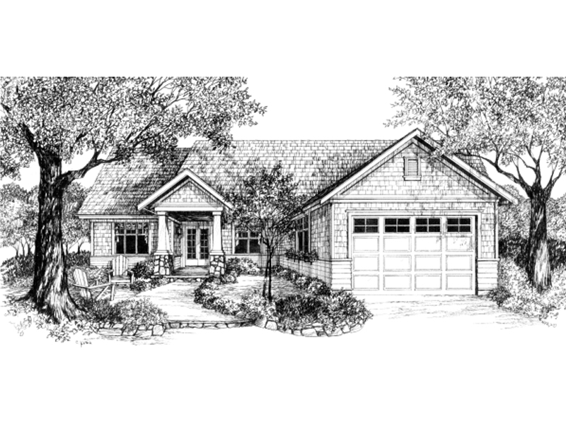 Charming Craftsman Home Plan