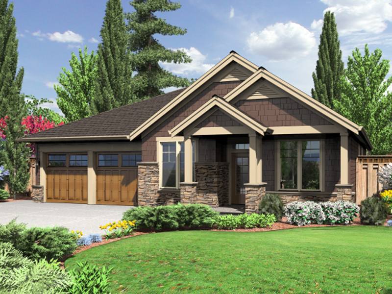 19 spectacular rustic craftsman home plans home building for Rustic craftsman house plans