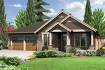 Fascinating Rustic Craftsman Home Plan