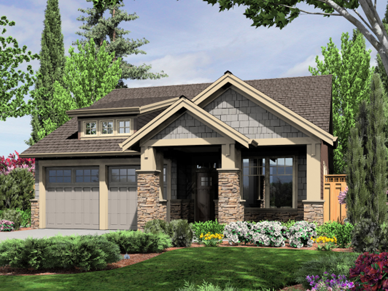 Lucy Park Bungalow Home Plan D    House Plans and MoreBungalow Impressions Magnify This Craftsman Home